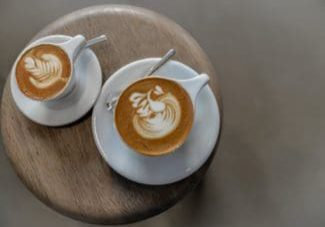 2 cups of latte